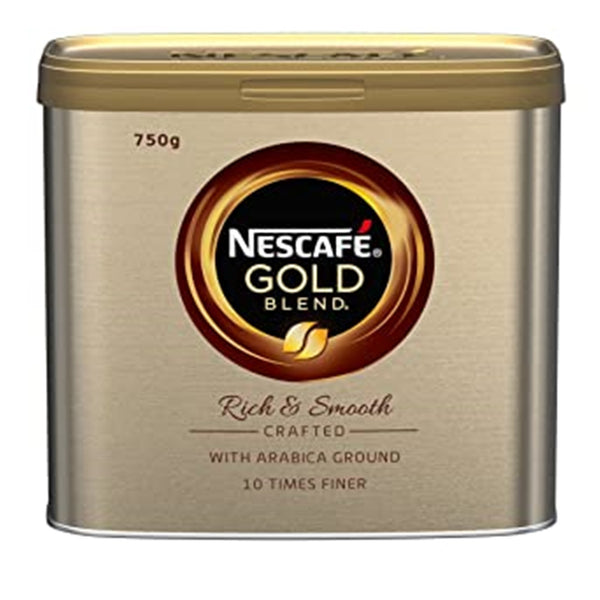 Nescafe Gold Blend Instant Coffee - 750g tin