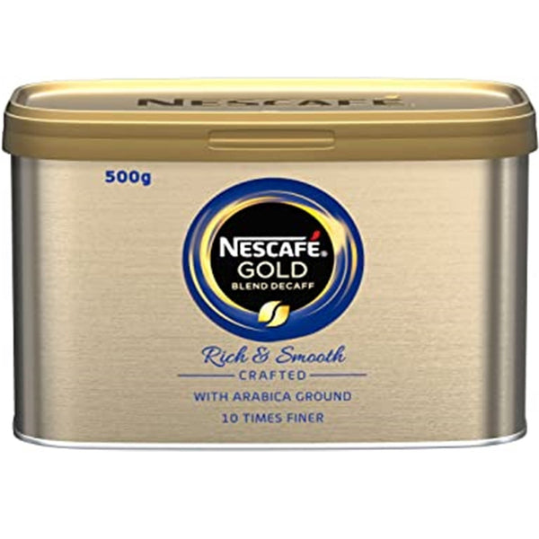 Nescafe Gold Blend Decaf Instant Coffee - 500g tin