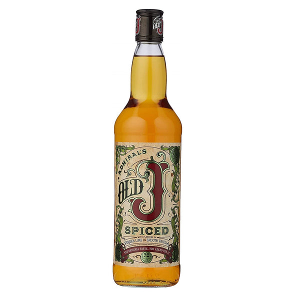 Old J Gold Spiced Rum - 70cl bottle