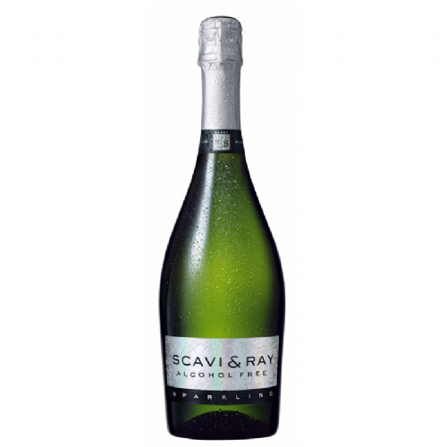 Scavi & Ray Alcohol Free Sparkling Prosecco - 0% Alcohol - 70cl Glass Bottle