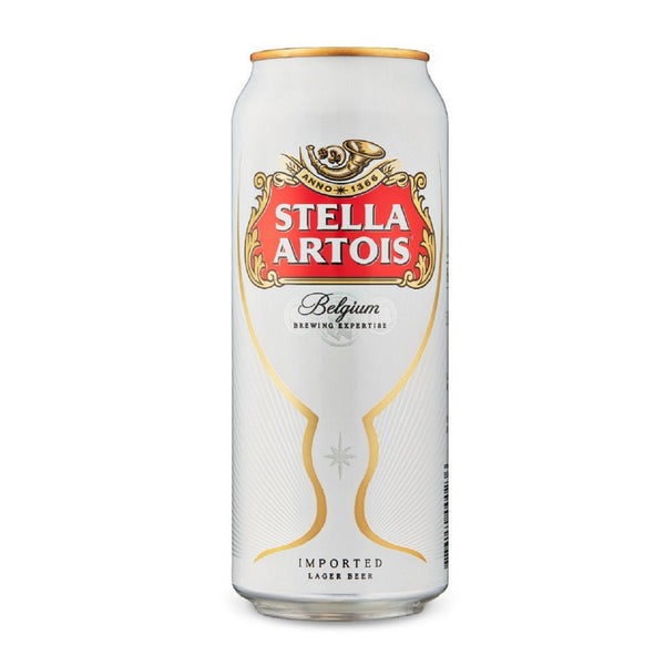 Stella Artois Lager - 440ml - Pack of 24
