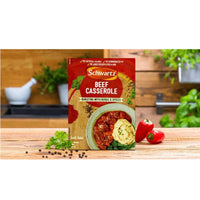 Schwartz Beef Casserole Mix - 43g Sachet - Pack of 6