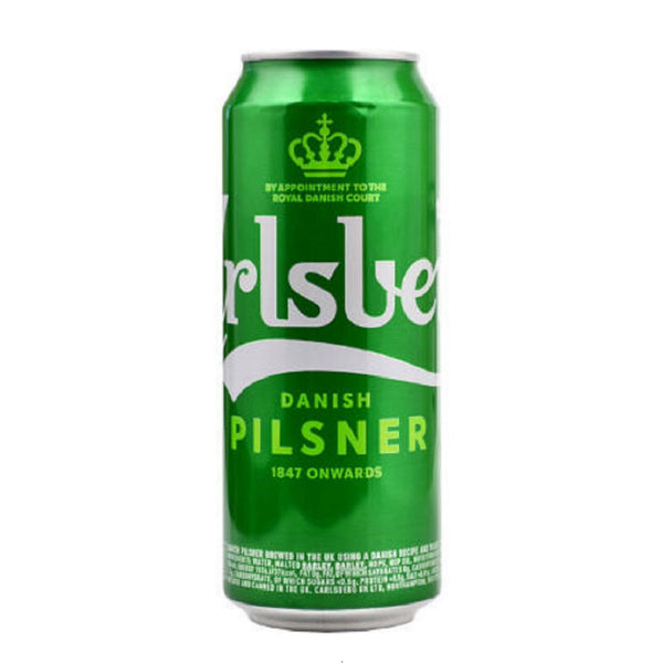 Carlsberg Pilsner Lager - 500ml - Pack of 24