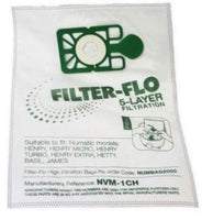 Numatic Filter-Flo Henry Hoover Compatible Vacuum bags - 10 bags