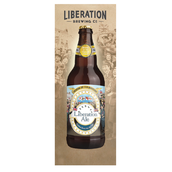 Liberation Ale 'Liberation Day 75th Anniversary' - 500ml - Pack of 8