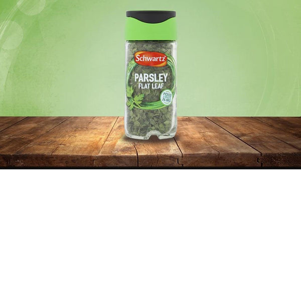 Schwartz Flat Leaf Parsley - 3g Jar - Pack of 6