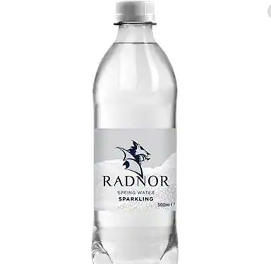 Radnor Sparkling Spring Water - 500ml Bottle - Pack of 24