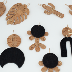 Flor Cork Earrings