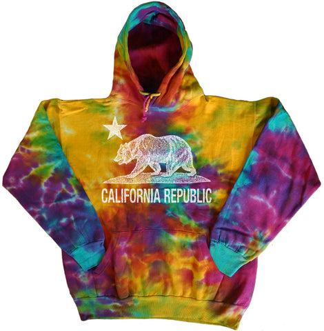 tie dye hoodie sweatshirt for men