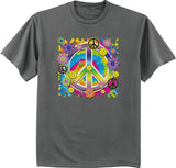 Hippie Peace Sign T-shirt