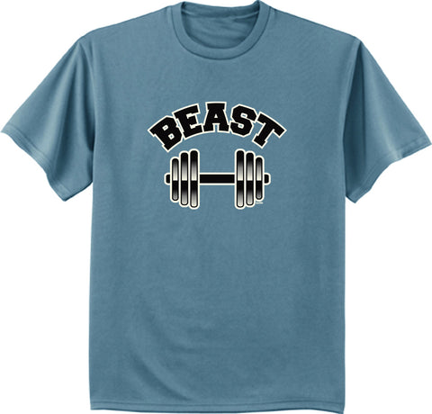 Beast T-shirt funny men's workout tee shirt