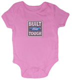 pink ford girls romper tee shirt