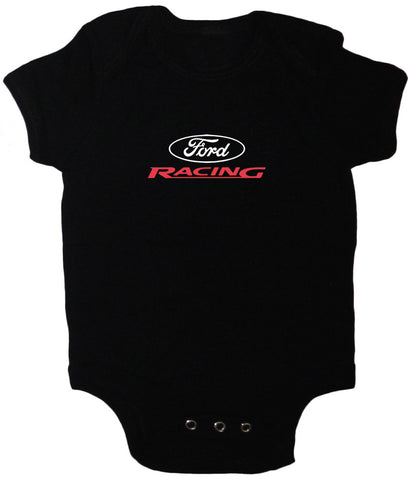 Ford Racing design infant baby romper one piece body-suit