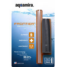 Aquamira Frontier Emergency Water Filtration System