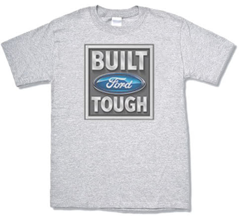 Built Ford Tough design mens Ford T-shirt
