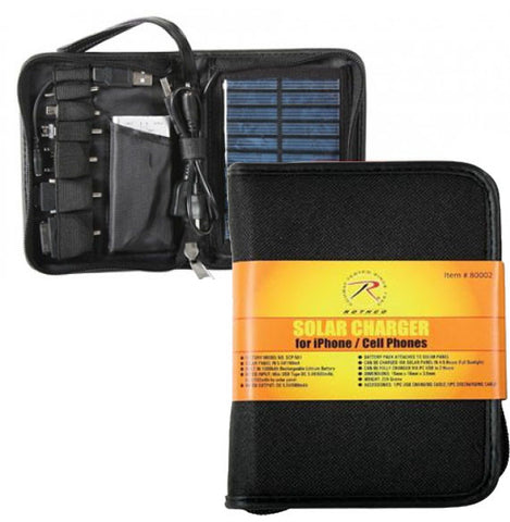 Deluxe Cell Phone iPhone Solar Charger
