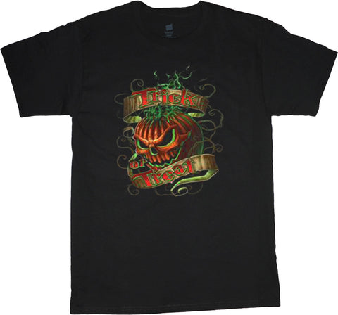 Trick or Treat Big and Tall Halloween T-shirt