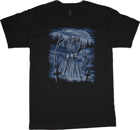 Big and Tall T-shirt Grim Reaper tshirt