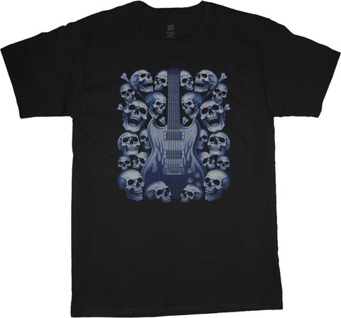 Big and Tall T-shirt Guitar Skulls Big and Tall Shirt