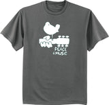 peace and music Woodstock tee