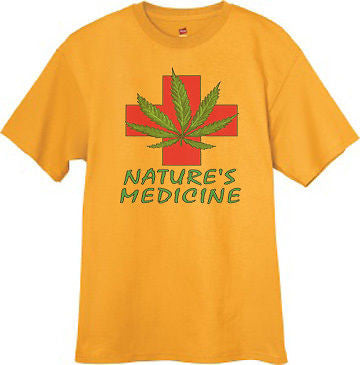 Nature's Medicine - Medical marijuana t-shirt
