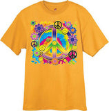 decked out duds peace sign t-shirt