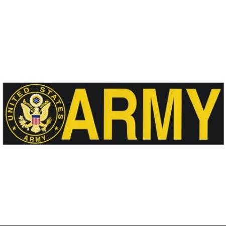 "US Army Bumper Sticker 9.5"" X 3"" Made In USA"