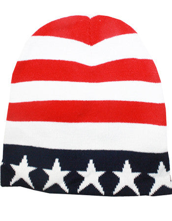 USA beanie winter hat