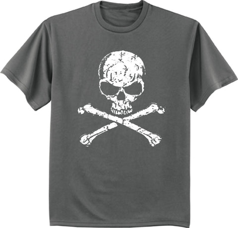 Pirate T-shirt jolly roger skull decal tee