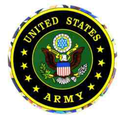US Army Sticker (style may vary)