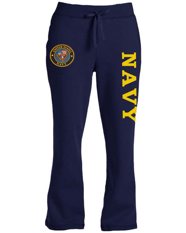 Ladies US Navy sweatpants for women