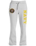 Ladies US Navy sweatpants for women usn