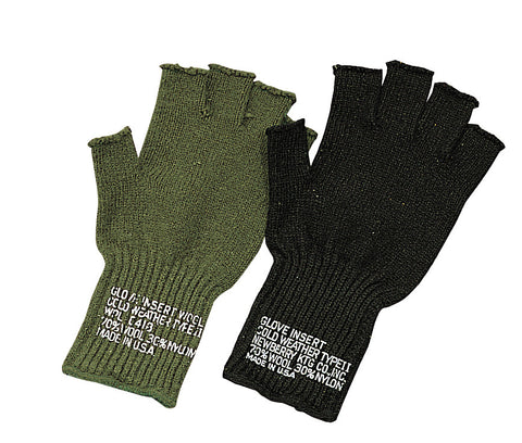 Fingerless gloves Army Navy