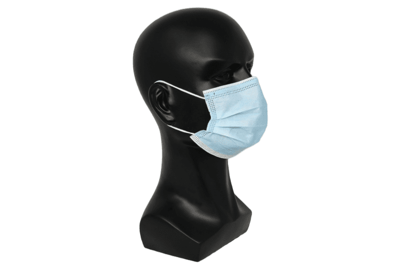 Blue Disposable Face Mask