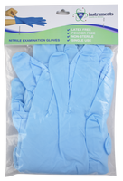 Blue Nitrile Gloves - Medium