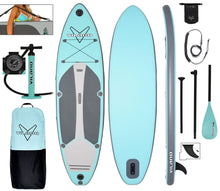 "Load image into Gallery viewer, Vilano Navigator 10' 6"" Inflatable SUP Stand Up Paddle Board Package"