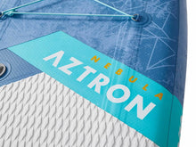 "Load image into Gallery viewer, Aztron NEBULA 2 person Inflatable SUP Board 12'10"" Double Layer incl. 2 Adjustable Aluminum Paddle and 2 Leash"