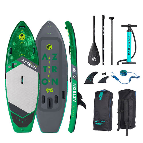 Aztron SIRIUS White Water/SURF Inflatable SUP 9'6