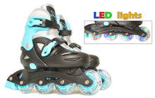 Load image into Gallery viewer, Vilano Adjustable Inline Skates for Boys or Girls, Lighted