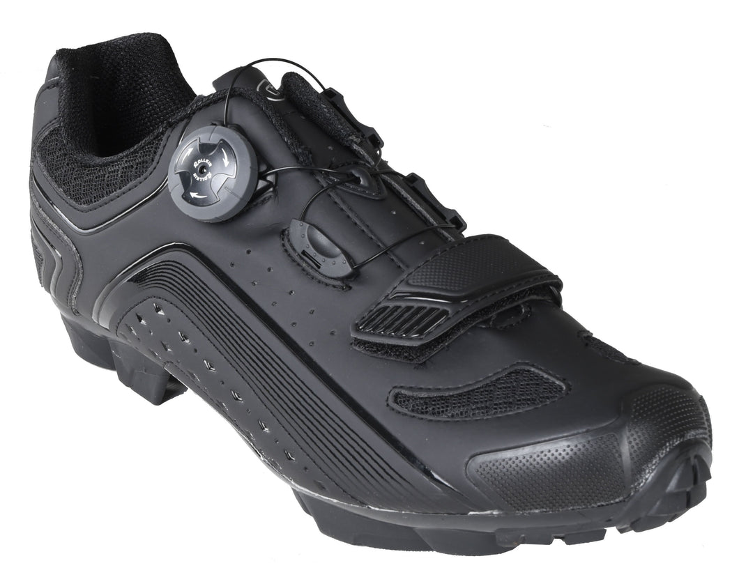 Gavin Pro MTB Shoe, Quick Lace - SPD Cleat compatible Mountain Bike Shoe