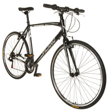 Load image into Gallery viewer, Vilano Diverse 1.0 Performance Hybrid Bike 21 Speed Shimano Road Bike 700c