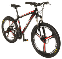 "Load image into Gallery viewer, Vilano 26"" Mountain Bike Ridge 2.0 MTB 21 Speed Shimano with Disc Brakes"