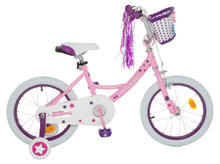 Load image into Gallery viewer, Vilano Girl's 16 Inch Bike with Training Wheels and Basket