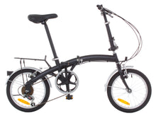 "Load image into Gallery viewer, APEX 16"" Folding Bike Shimano 6 Speed - Rack & Fenders"