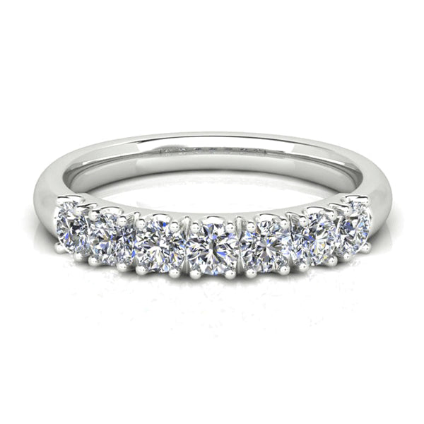 18ct Hand-Made 0.75ct Diamond Band