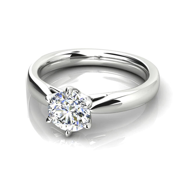 18ct One Carat Diamond Solitaire
