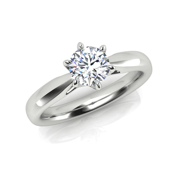 18ct 0.70ct Diamond Solitaire