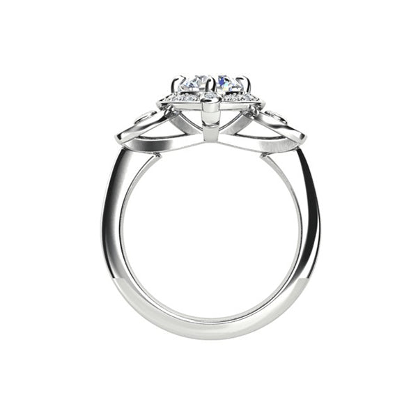 18ct 1.23ct Diamond Trilogy Ring