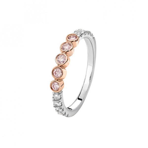 Kimberley Cara Argyle Pink & White Diamond Ring