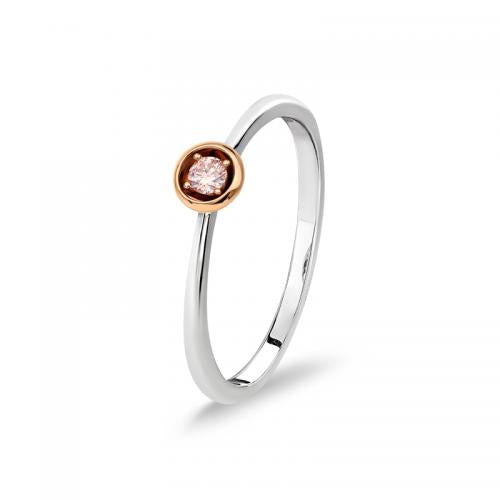 Blush Ophelia Argyle Pink Diamond Ring
